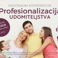 NAJAVA: Konferencija Profesionalizacija udomiteljstva