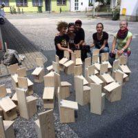 Izrada kućica za ptice s volonterima i završetak projekta