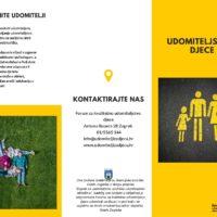 Brošura Udomiteljstvo djece